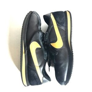 Nike Cortez men's sneakers size 12 black and gold